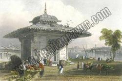 Istanbul, Fountain at Scutari, 1838, (İstanbul, Üsküdar Çeşmesi)